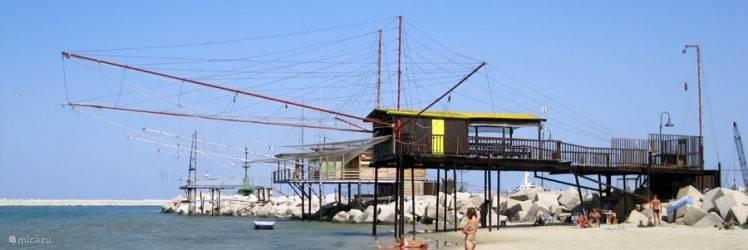 Pescara aan de kust