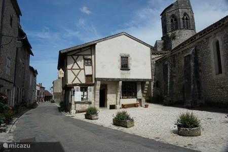Medieval village Charroux