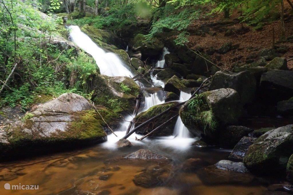Watervallen van Pisserotte