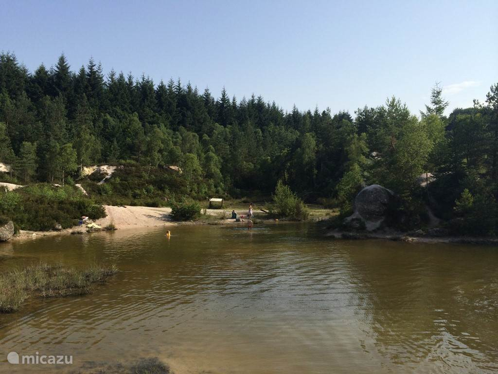 Kaolin lake.