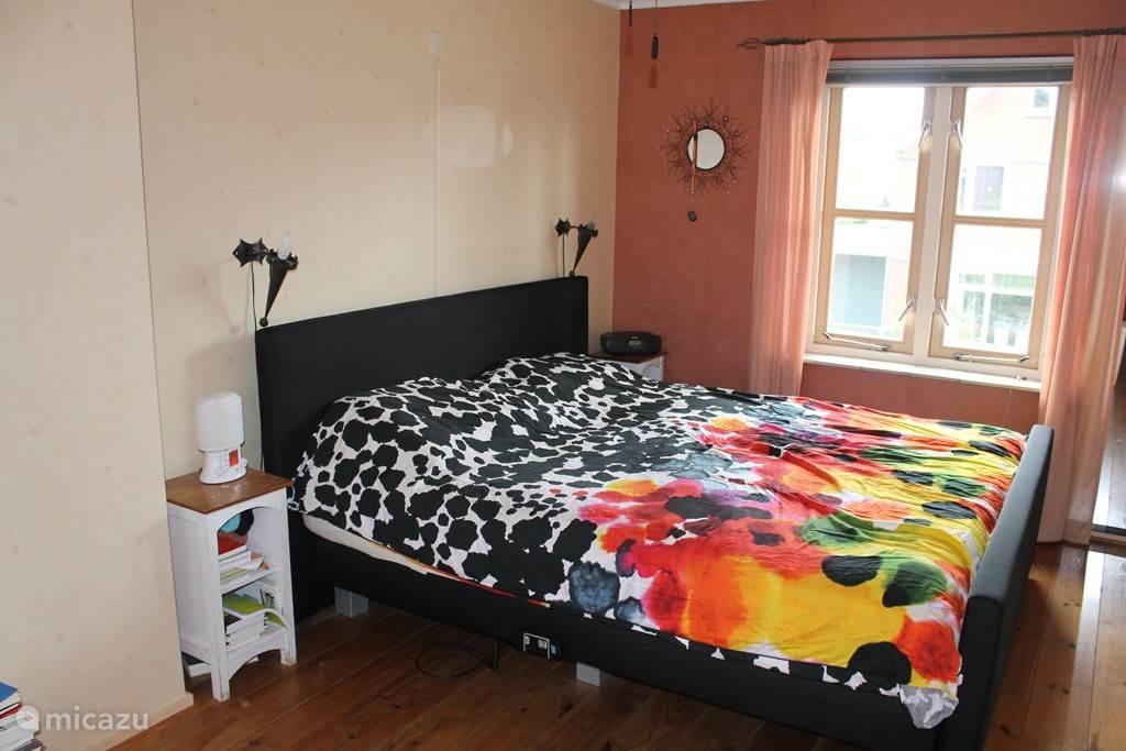 tweepersoons slaapkamer.