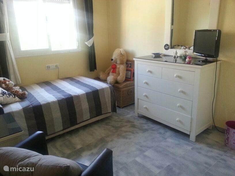 slaapkamer met airconditioning