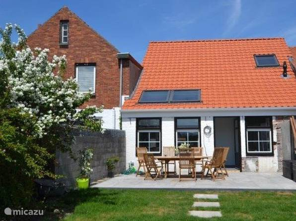 Vakantiehuis Nederland, Zeeland, Schoondijke - vakantiehuis Huisje Zeertevree