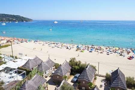 Vakantiehuis Frankrijk, Côte d´Azur, Ramatuelle stacaravan SaintTropez strandchalet Toison d'Or