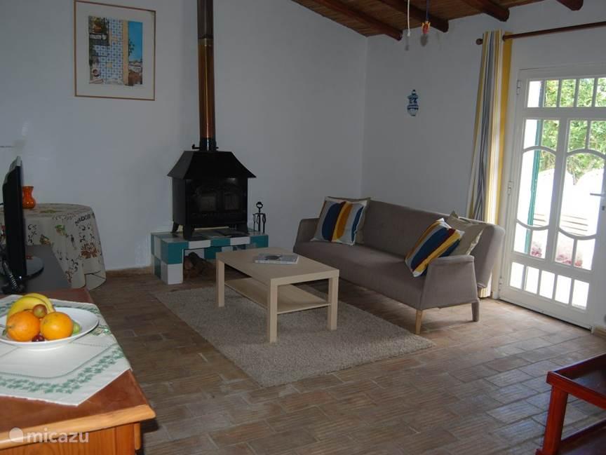 Woonkamer Casa Amarela