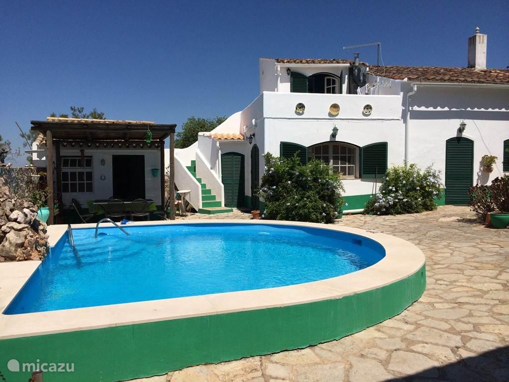 Zwembad en Casa Verde