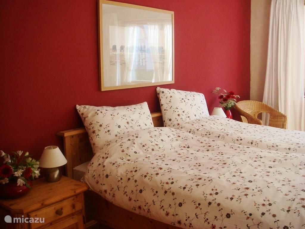 Romantische slaapkamer op de eerste etage