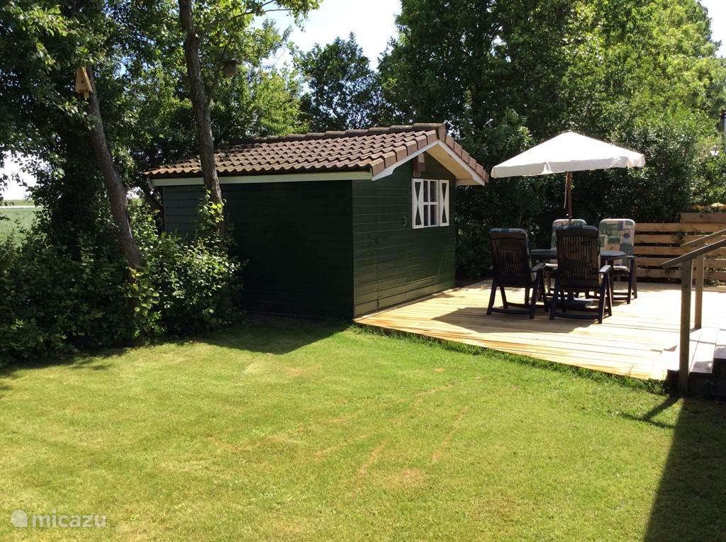 Vakantiehuis Nederland, Zeeland, Stavenisse Chalet Chalet aan Oosterschelde in Zeeland
