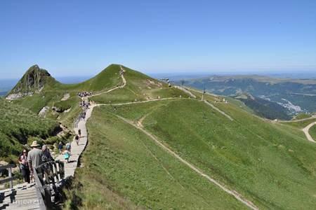 Mooi wandelen op de Puy-de Sancy