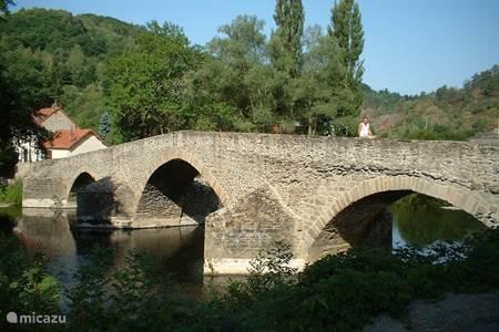 Oude romeinse brug:
