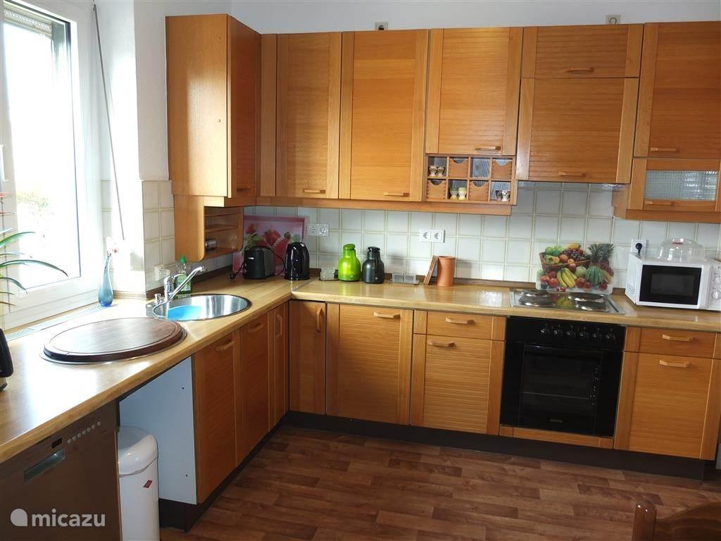 Compleet ingerichte keuken