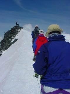 Bergbeklimmen Allalin