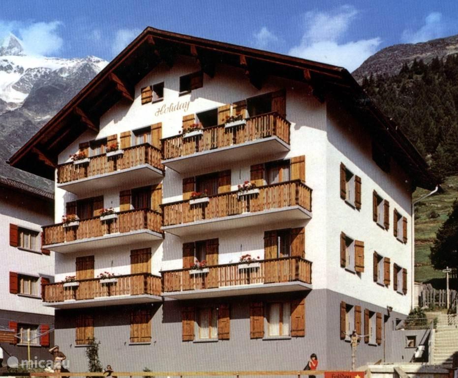 Vakantiehuis Zwitserland, Wallis, Saas-Fee - appartement Huis Holiday