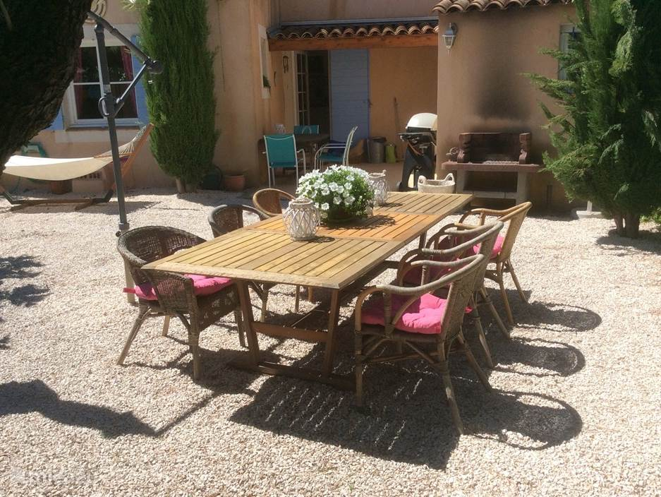 Vacation rental France, French Riviera, Sainte-Maxime Terraced House Provencales