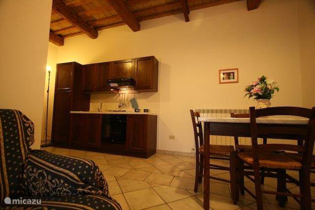 apartmenet Cagli kitchen