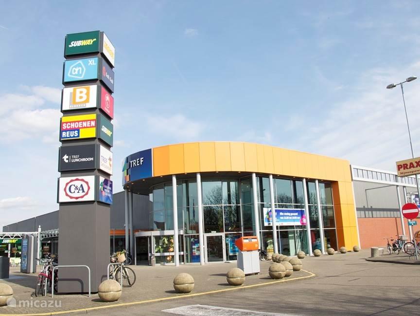 Winkelcentrum bij Tref in Venlo.