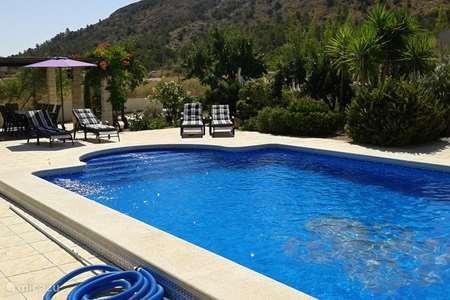 Vakantiehuis Spanje, Costa Blanca, Hondón de las Nieves - bungalow Las Casitas La Ladera