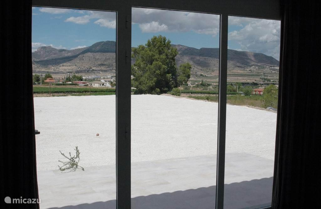 Uitzicht vanuit de Casita