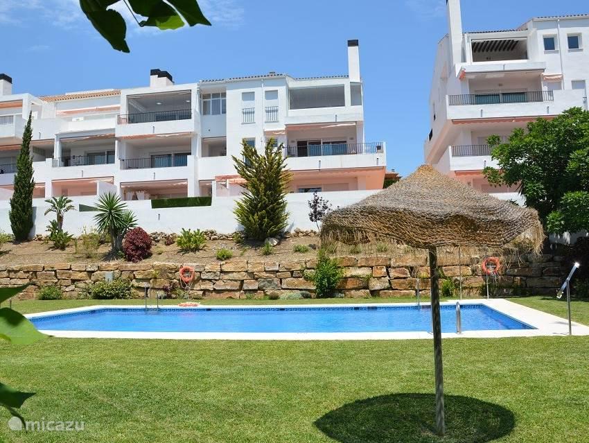 Casa Claudia in grote en gewilde urbanisatie Golf Resort Torrequebrada
