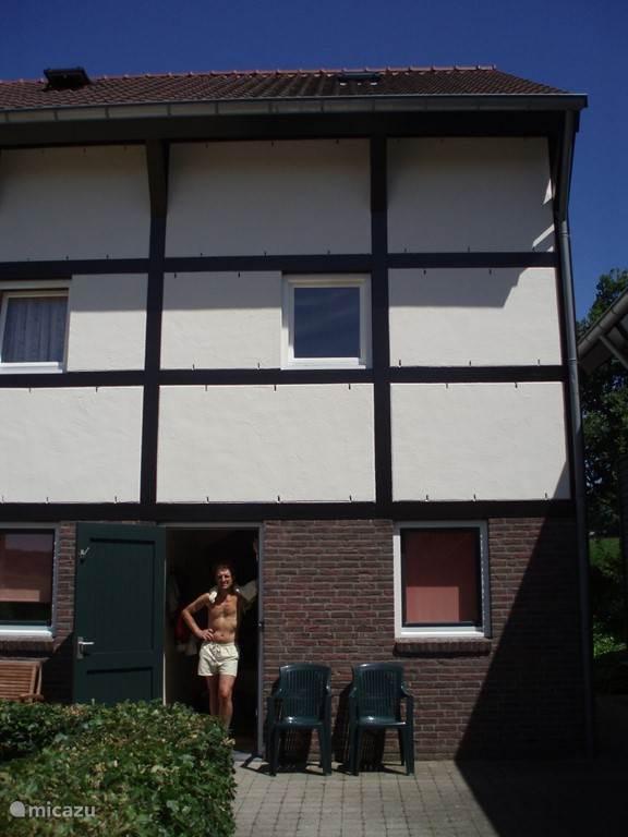 Het huis, de voorkant