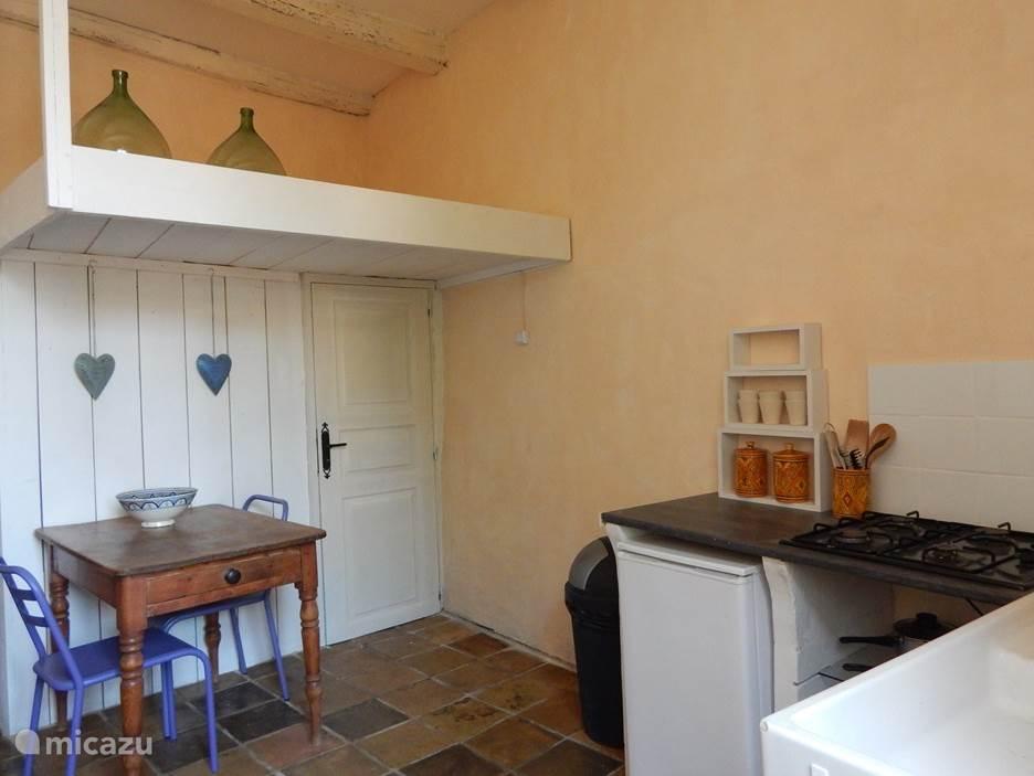 keuken met mezzanine
