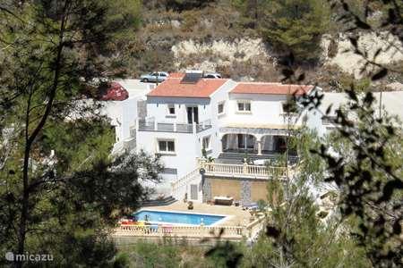 Vakantiehuis Spanje, Costa Blanca, Moraira villa Villa la Vina (luxe en privacy)