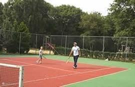 Tennisbaan ( tegen betaling )