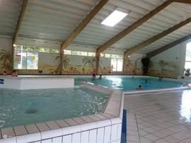 Binnenzwembad open vanaf 27 maart  2016 tot eind october 2016  gratis voor 6 personen
