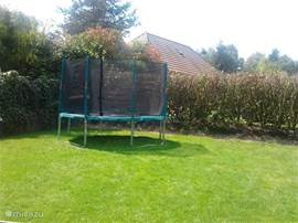 Grote trampoline bungalow 3,60