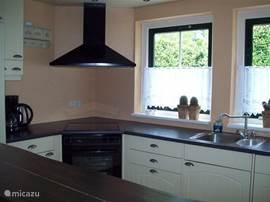DE keuken in bungalow 49