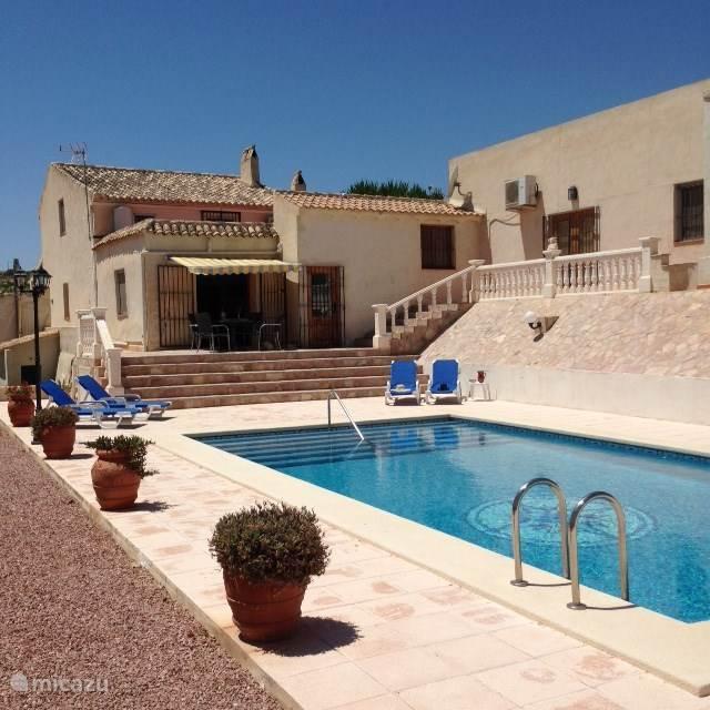 Vacation rental Spain, Costa Blanca, Aspe finca Finca Fakkeldij
