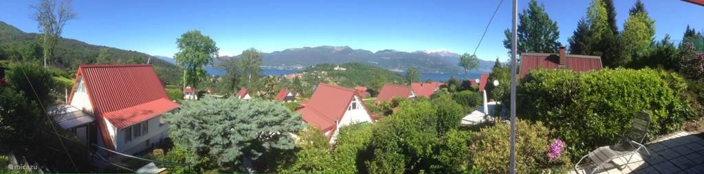 Panorama van het uitzicht.