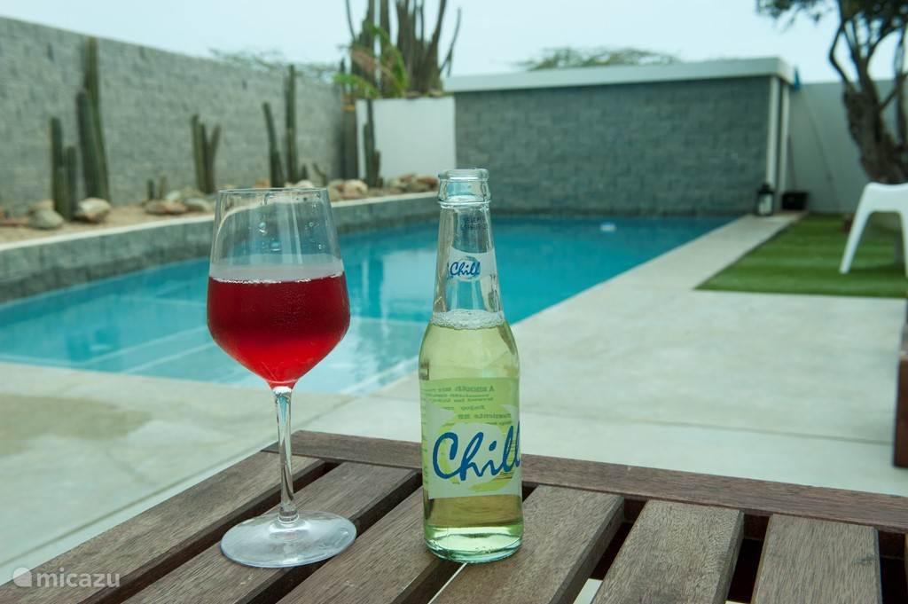 frisse duik en coole drankjes, soms andersom