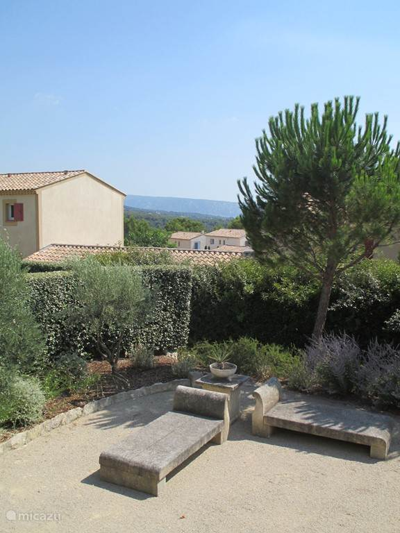 Views over the Luberon from the terrace