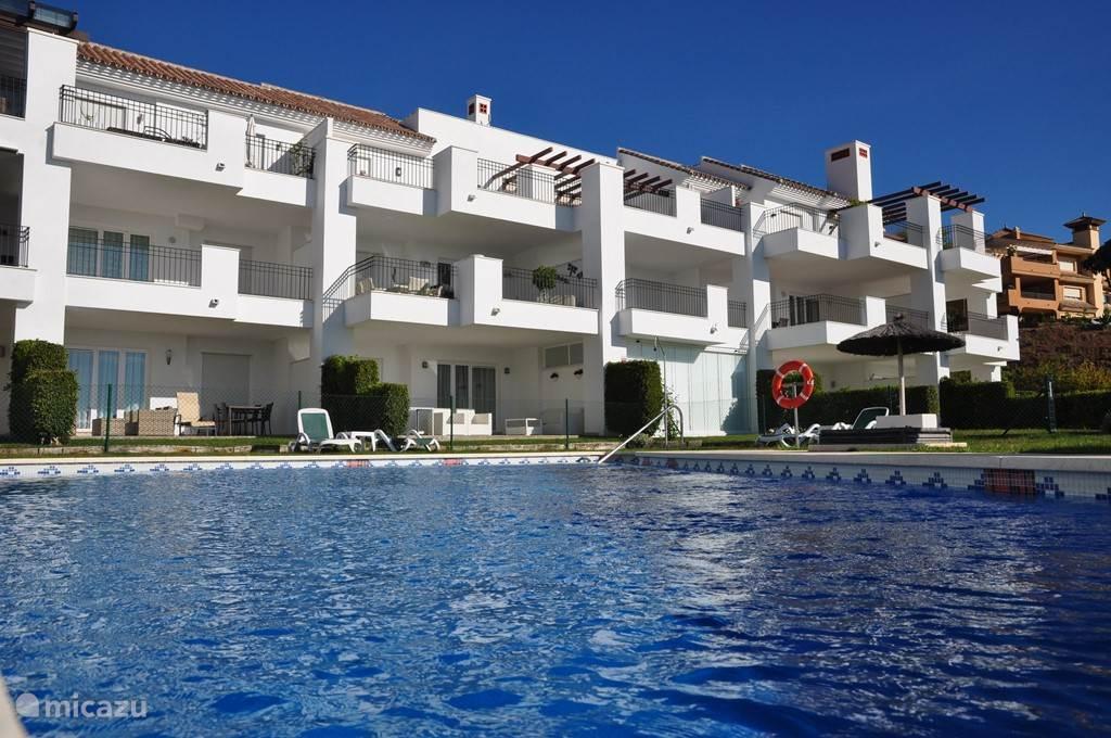 Vakantiehuis Spanje, Costa del Sol, Marbella - appartement  Casa La Florista: gratis golfen!