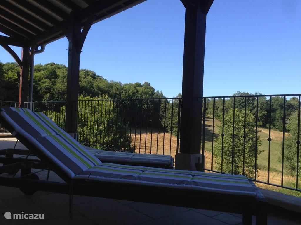veranda with views, east side