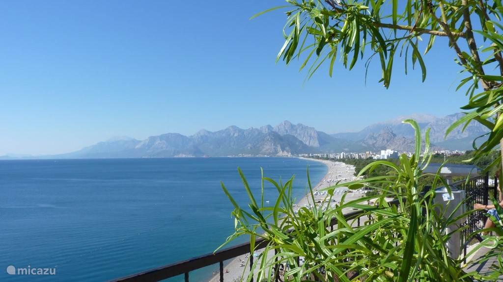 In het hart van Antalya en toch dichtbij de natuur...