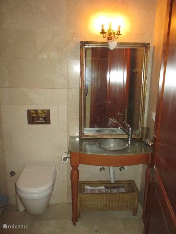Recent gerenoveerde badkamer