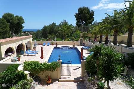 Vakantiehuis Spanje, Costa Blanca, Benissa - vakantiehuis Villa Senomar appartement Picasso