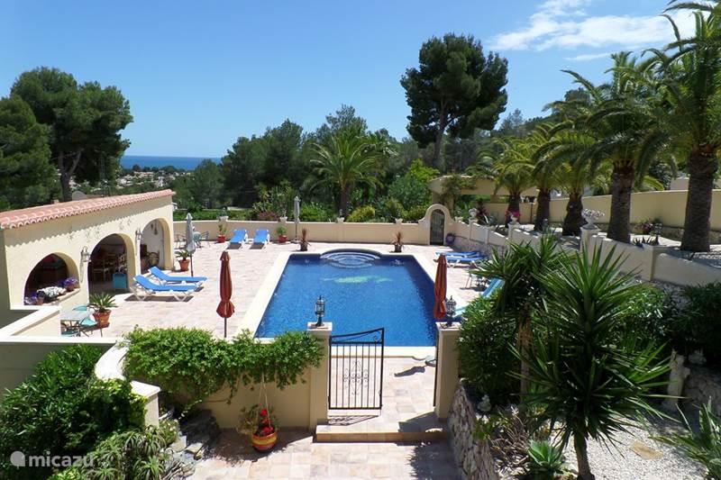 Vakantiehuis Spanje, Costa Blanca, Benissa Vakantiehuis Villa Senomar appartement Picasso