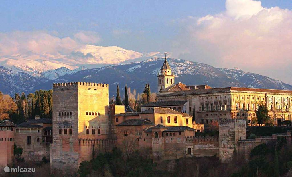 Alhambra in Spaanse stad Granada
