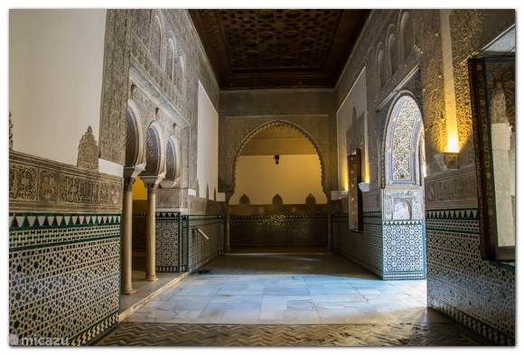 Beroemd koninklijk ( Unesco ) paleis in Servilla