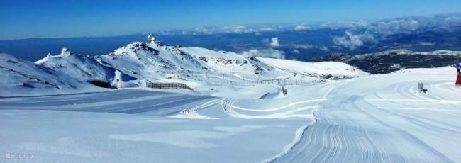 Skiën eeuwige sneeuw 1 uurtje rijden