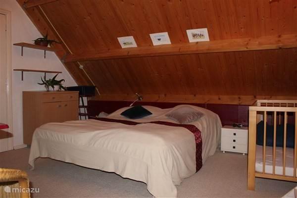 slaapkamer rood