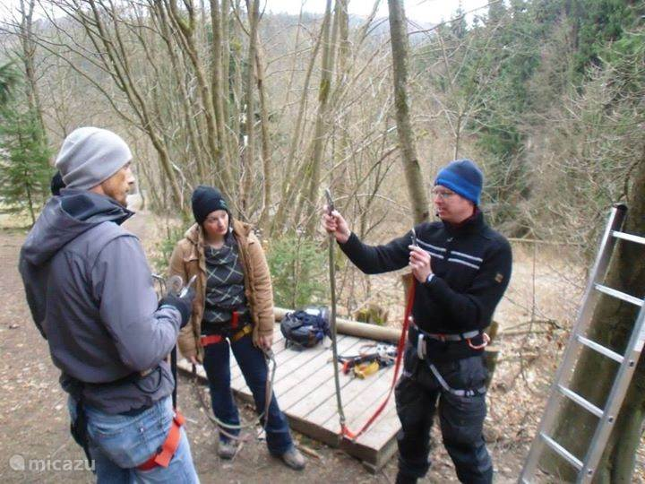 Geocoaching in Hoppecketal Valley