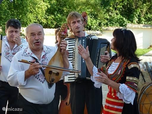 Plaatselijke muzikanten