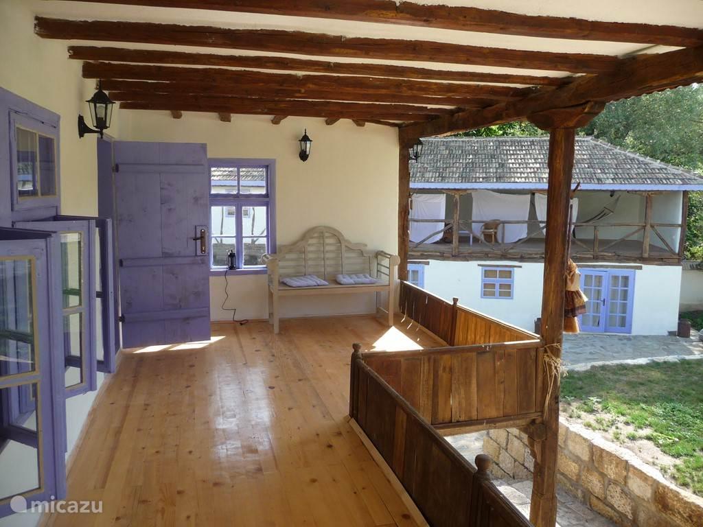 Kleine balkon