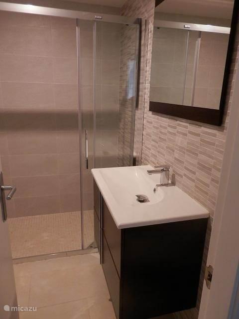 Badkamer 2 met inloopdouche