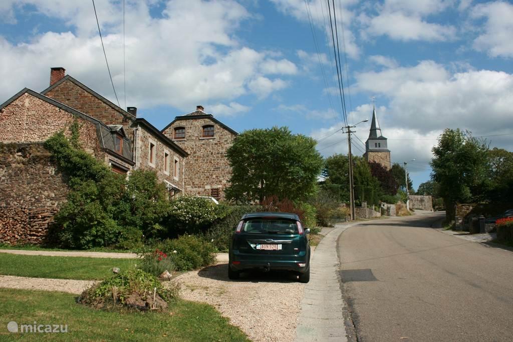 Marcourt, het dorp