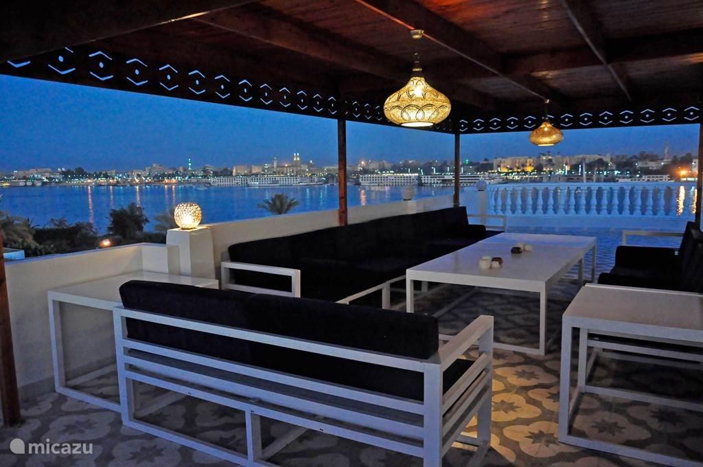 Vakantiehuis Egypte, Nijl, Luxor Appartement Begane grond + geweldig dakterras #1